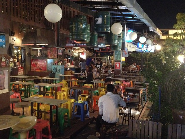 Trendy Bars in Thong Lor - Bangkok, Thailand