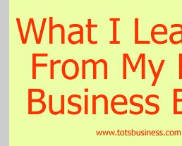 What I Learned From My First Business Expo
