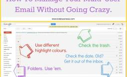Multi users single email tips