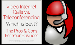 Video internet calls vs teleconferencing which is best