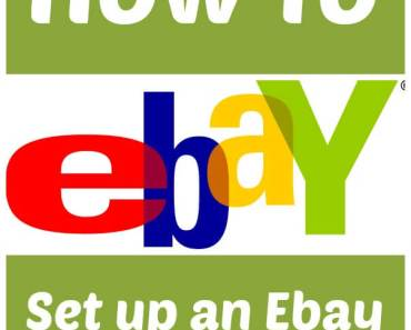 How to Set up an Ebay User Account