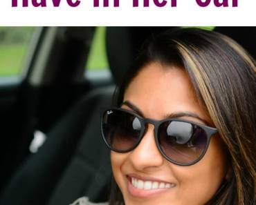 Things Every Woman Should Have in Her Car