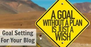 Goal Setting For Your Blog – Sandbox To Success Episode 033