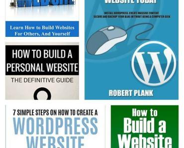 5 FREE How To Build A Website eBooks