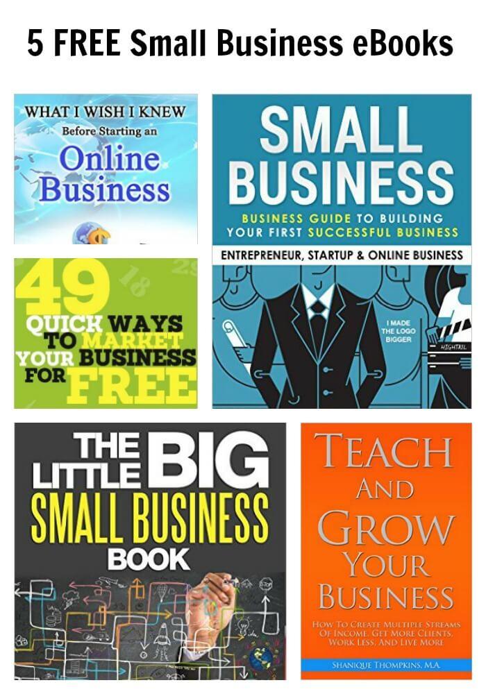 5 FREE Small Business eBooks Thinking Outside The Sandbox Business