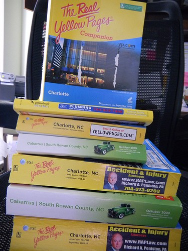 address and telephone book