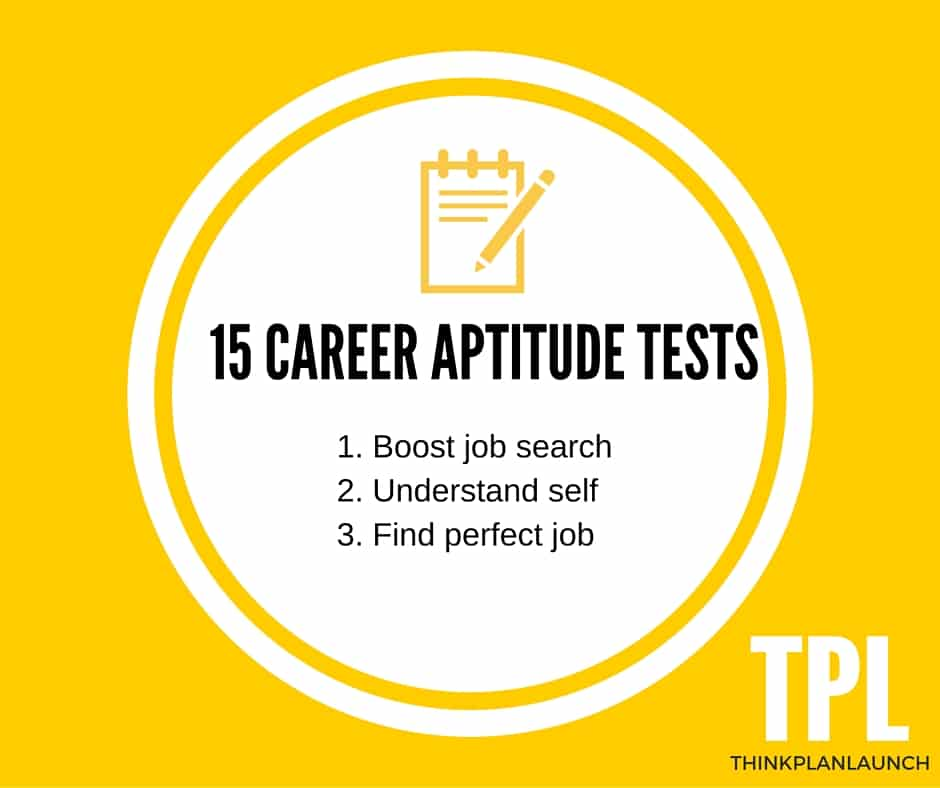 15 Career Aptitude Tests To Boost Your Job Hunt