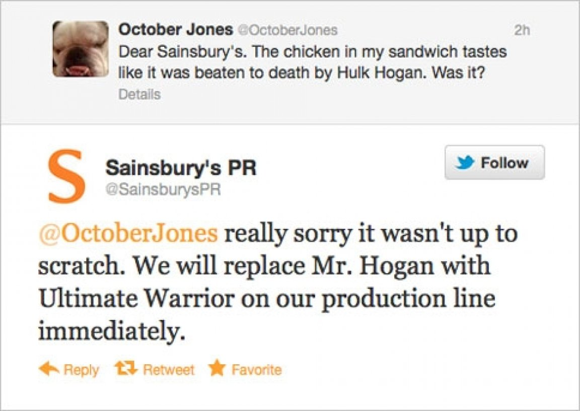 Hulk Hogan Twitter Responding To Customer Complaints On Twitter