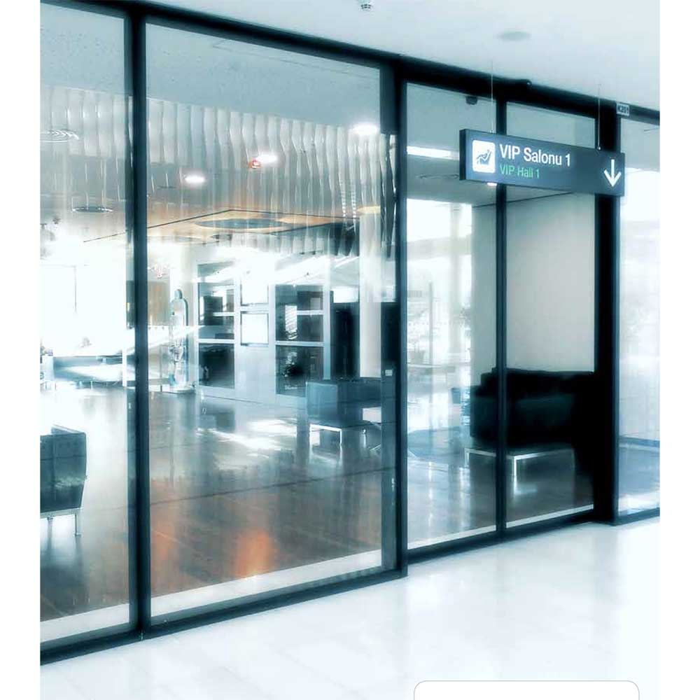 Entrance Doors Automatic Sliding Aluminum Entrance Doors Dg Thira Ltd