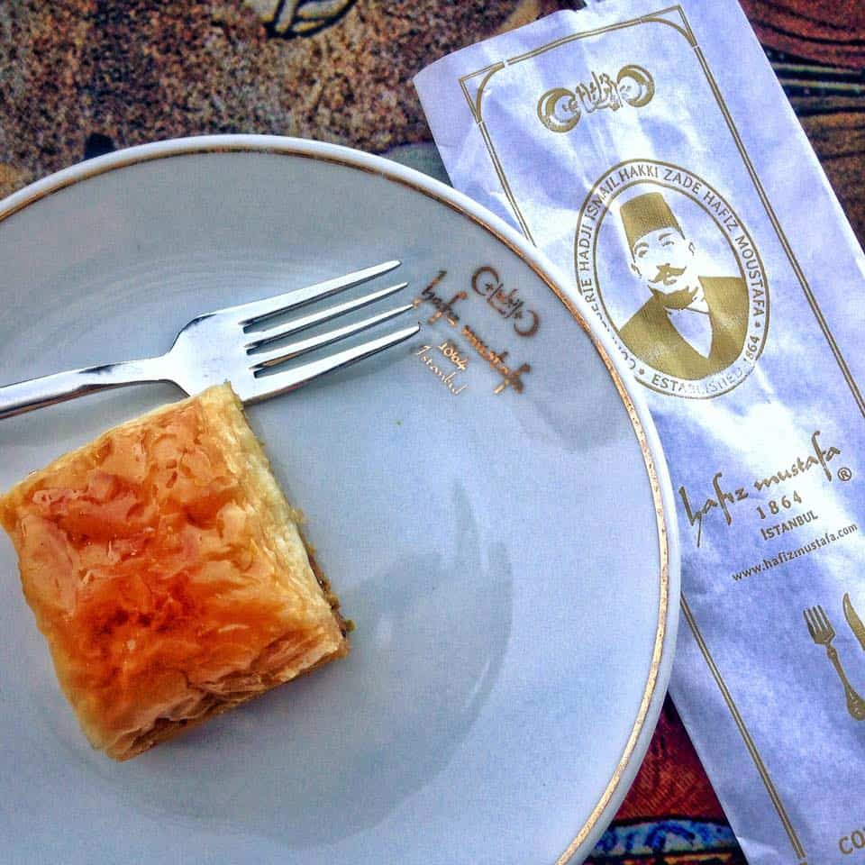 HAFIZ MUSTAFA: THE BEST BAKLAVA IN ISTANBUL