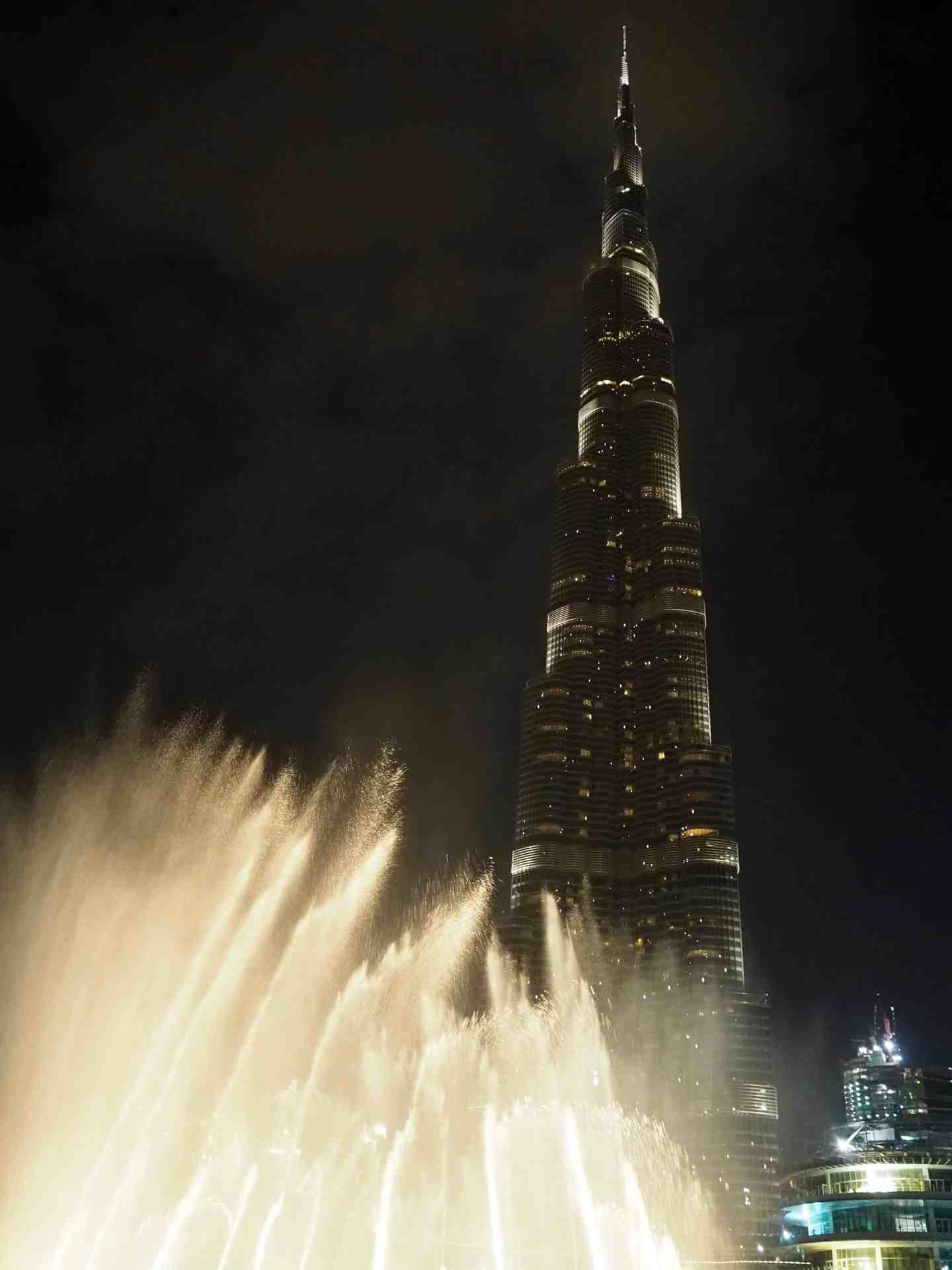 burj khalifa dubai fountain show