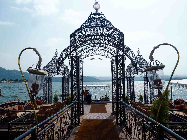 Taj Lake Palace Udaipur Jetty