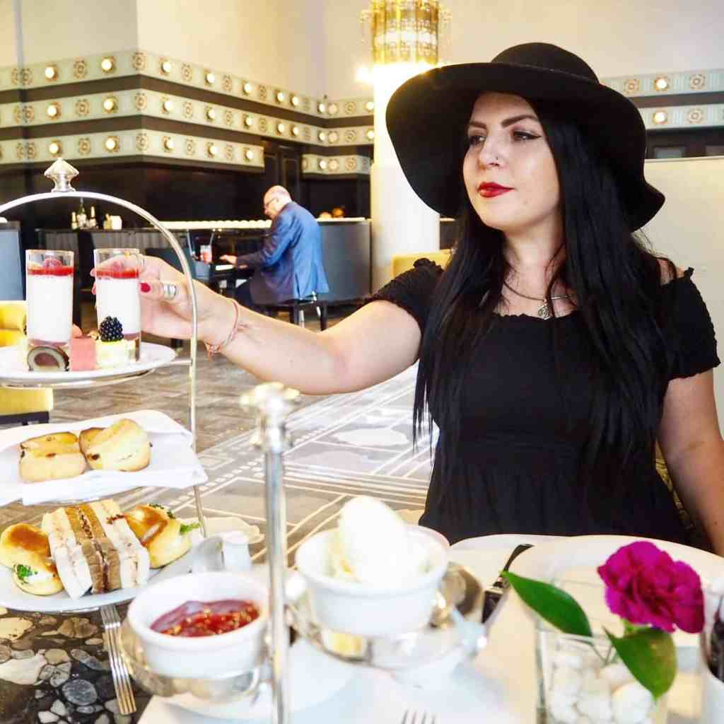 AFTERNOON TEA AT HOTEL BRISTOL IN WARSAW