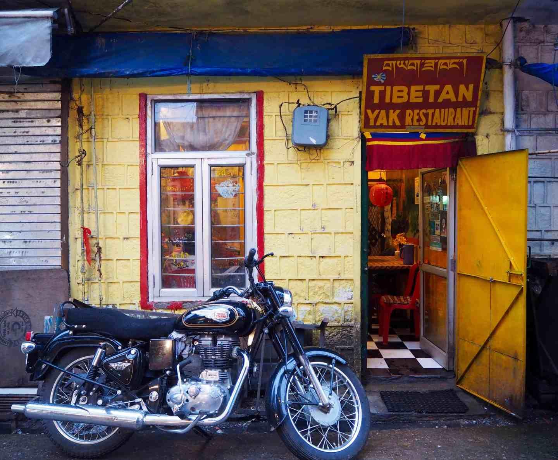 tibetan cafe dharamsala