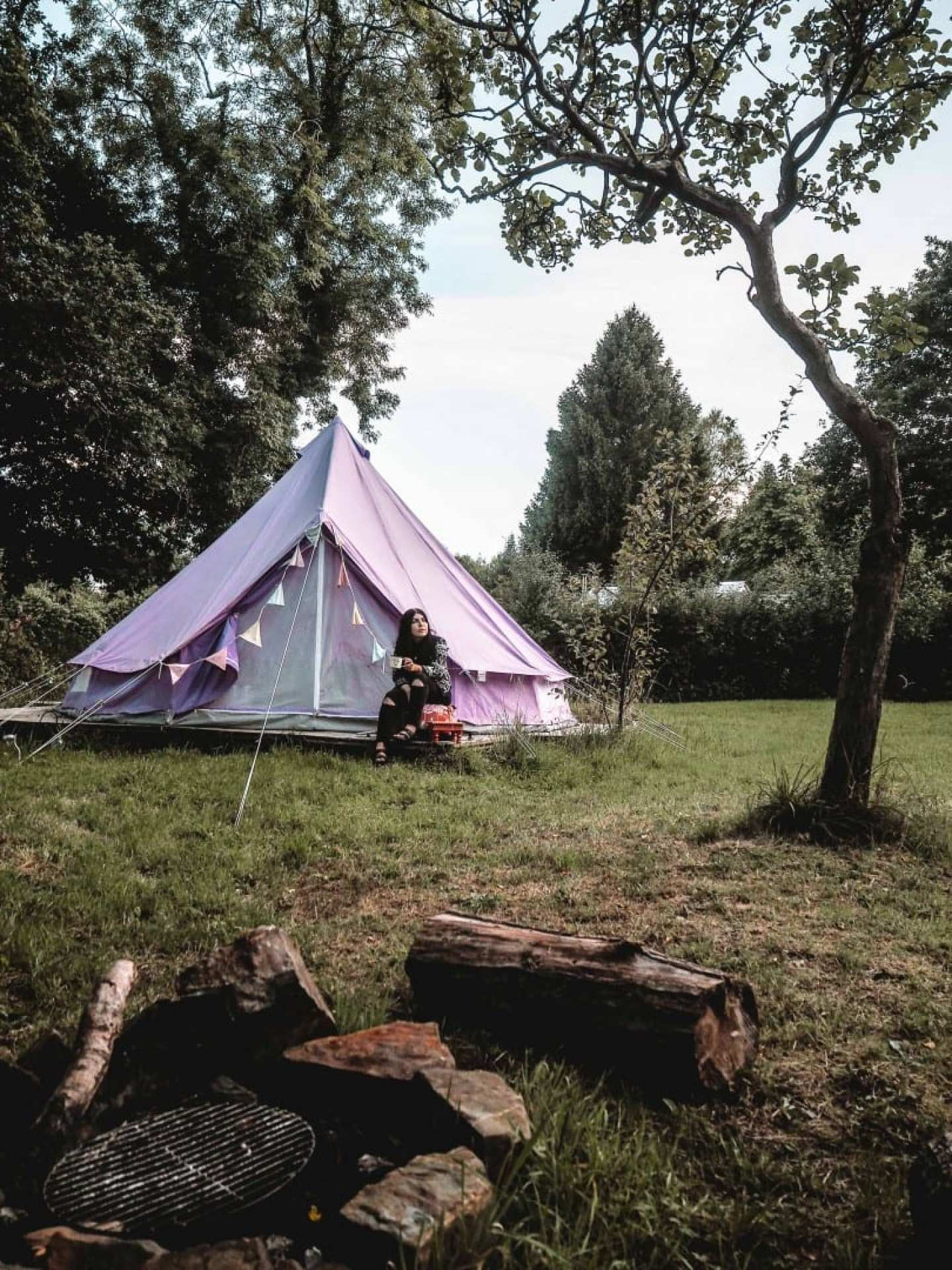 reforge retreat glamping holiday cornwall