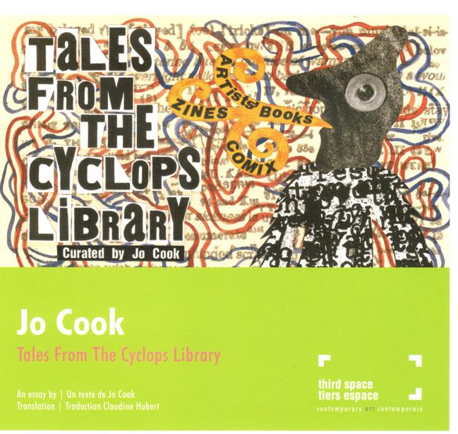 Jo Cook: Tales From The Cyclops Library