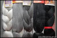 Kanekalon Jumbo Braid Hair - thirstyroots.com: Black ...