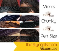Braids, Hair Growth and Length Retention