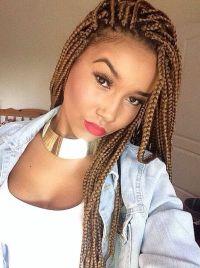 65 Box Braids Hairstyles for Black Women
