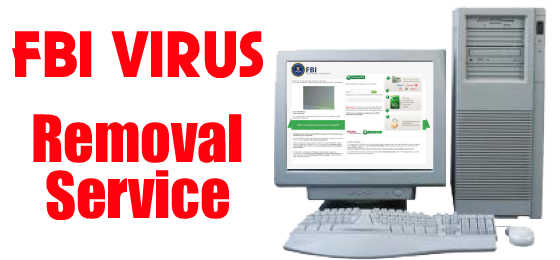 FBI Virus & Department Of Justice Virus Removal Service