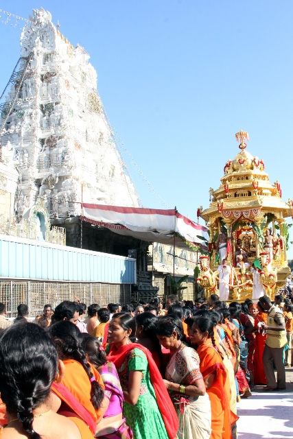 Tirupati Balaji Temple Shuts Down for Lunar Eclipse