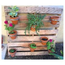 Gallant Pallet Diy Pallet Planter This Abundant Life Diy Pallet Herb Garden