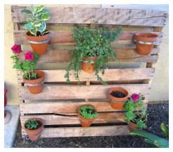 Small Of Diy Pallet Herb Garden
