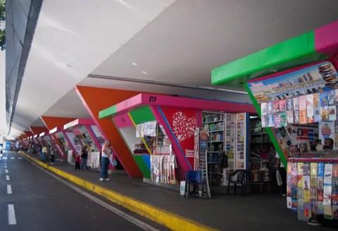 Books under Bridge