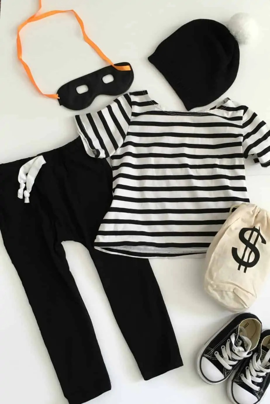 Diy Bank Robber Shirt Diy Toddler Bank Robber Costume This Bliss Life