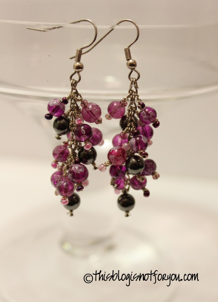 Pinterest Diy Deco Diy Grape-earrings And Matching Bracelet – This Blog Is