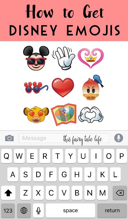 Here\u0027s How to Get Disney Emojis - This Fairy Tale Life - emoji story copy and paste