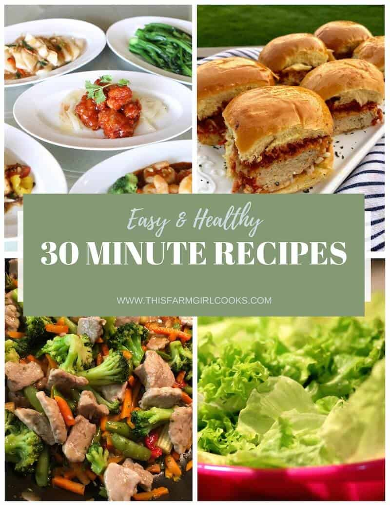 30 Minuten Küche Easy Cooking Healthy 30 Minute Meals: 28 Easy Dinner Recipes | This