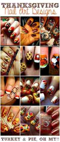 Thanksgiving Nail Art Designs - This Girl's Life Blog