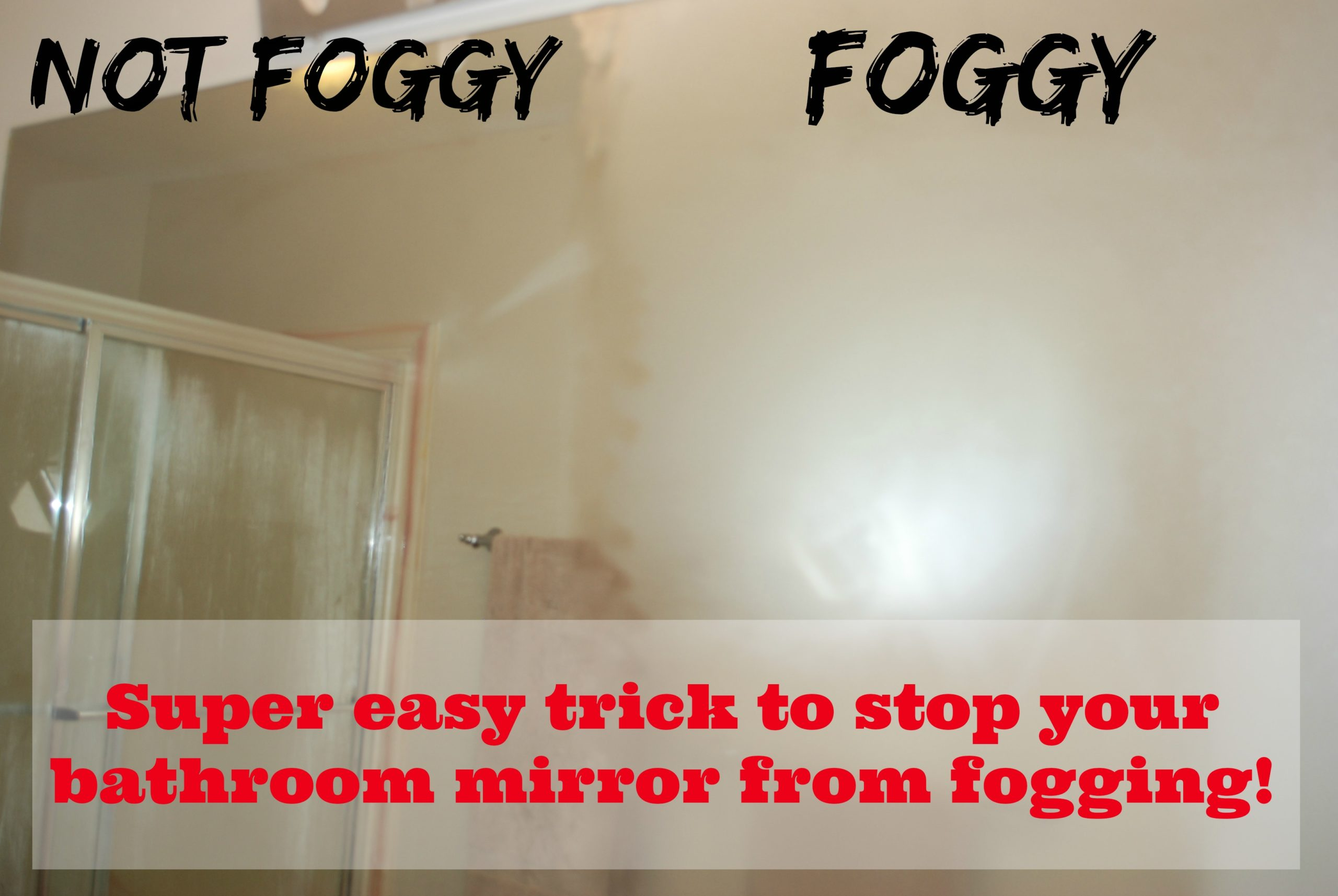 Stop Your Bathroom Mirror From Fogging Tgif This Grandma Is Fun
