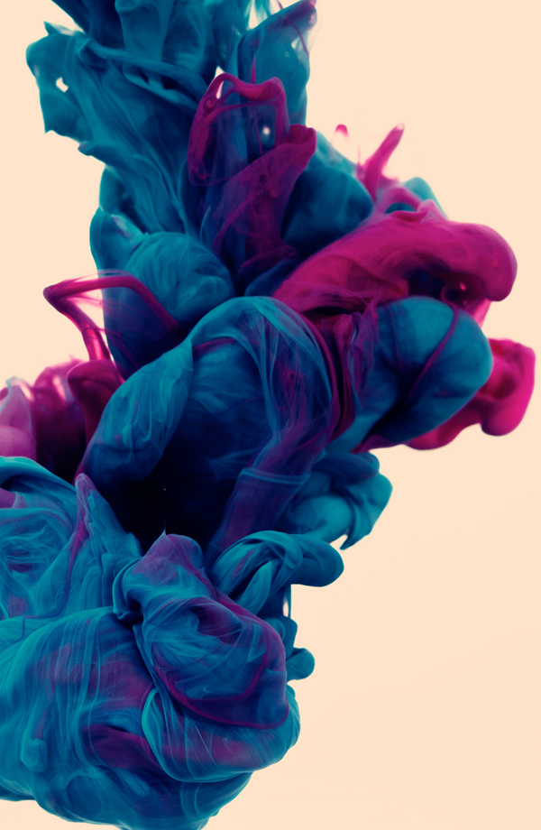 Metalic Verf Underwater Ink Photographs By Alberto Seveso | Colossal