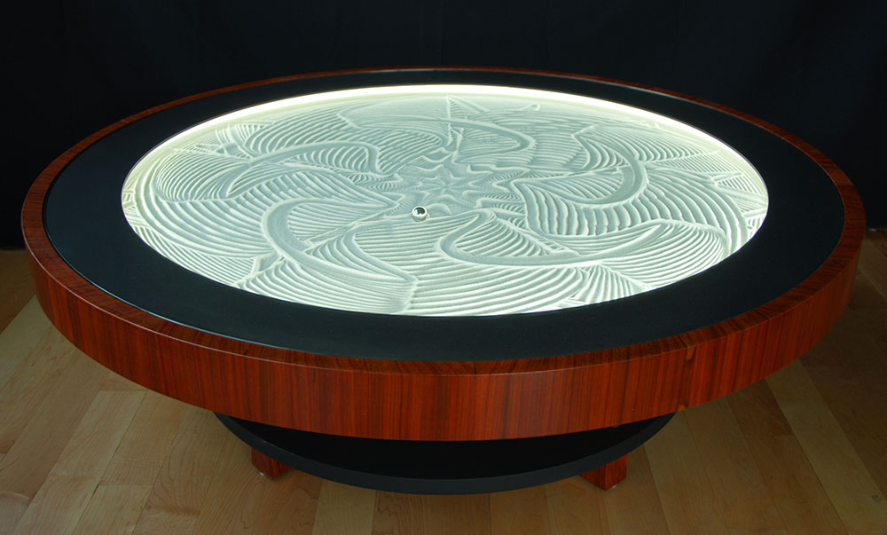 Couchtisch Metal New Kinetic Sand Drawing Tables By Bruce Shapiro | Colossal