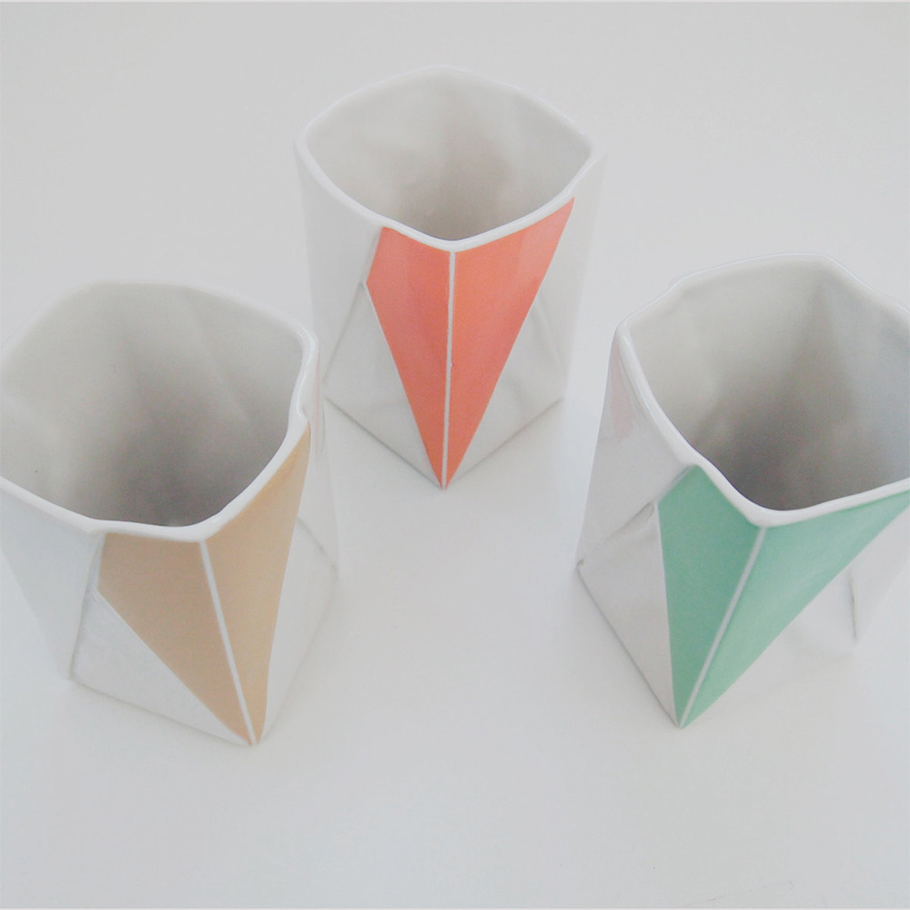 Moij Hamburg Ceramic Origami Plates And Dishware By Moij Design | Colossal