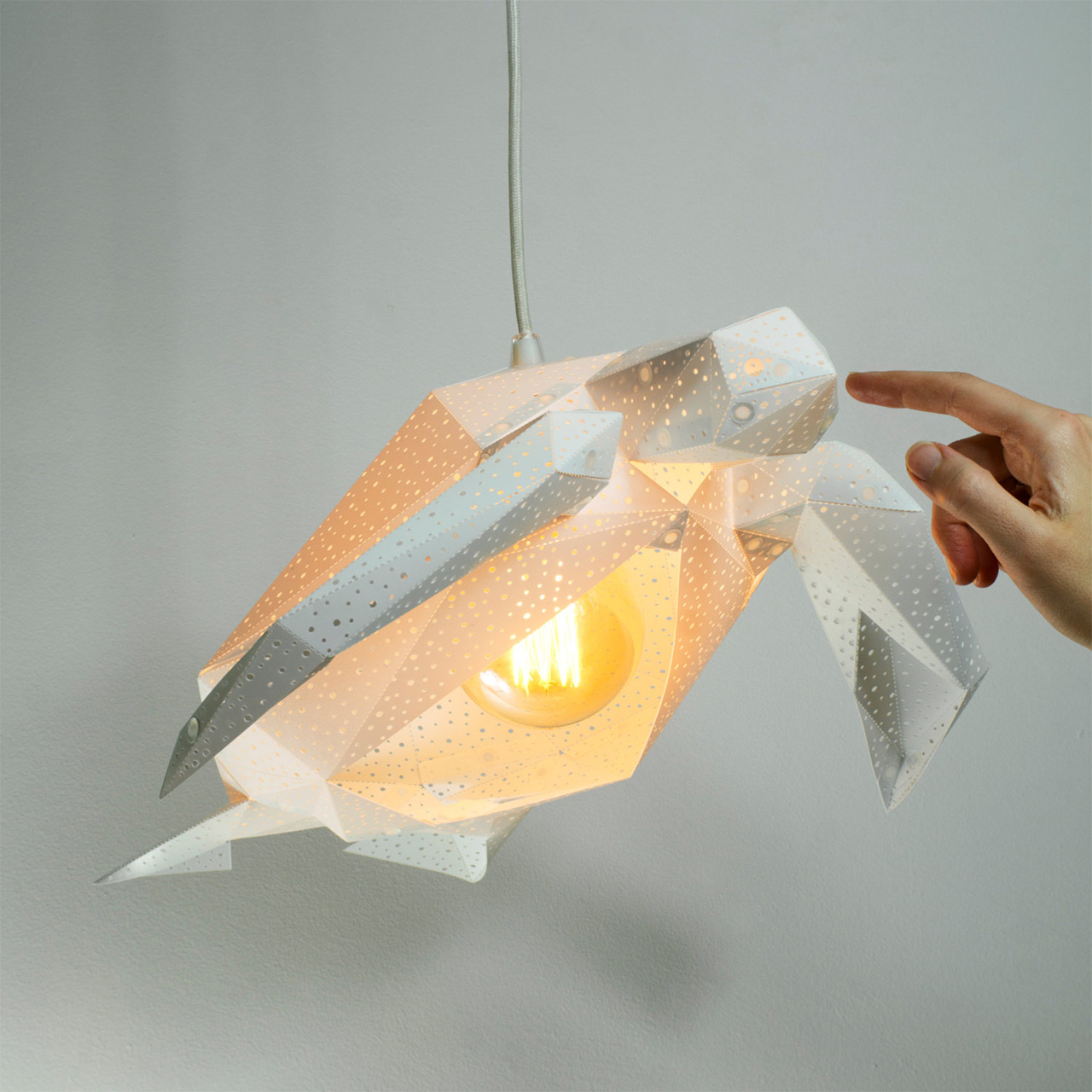 Paper Light Shades Diy Papercraft Light Shades Of Aquatic Life By Vasili Colossal