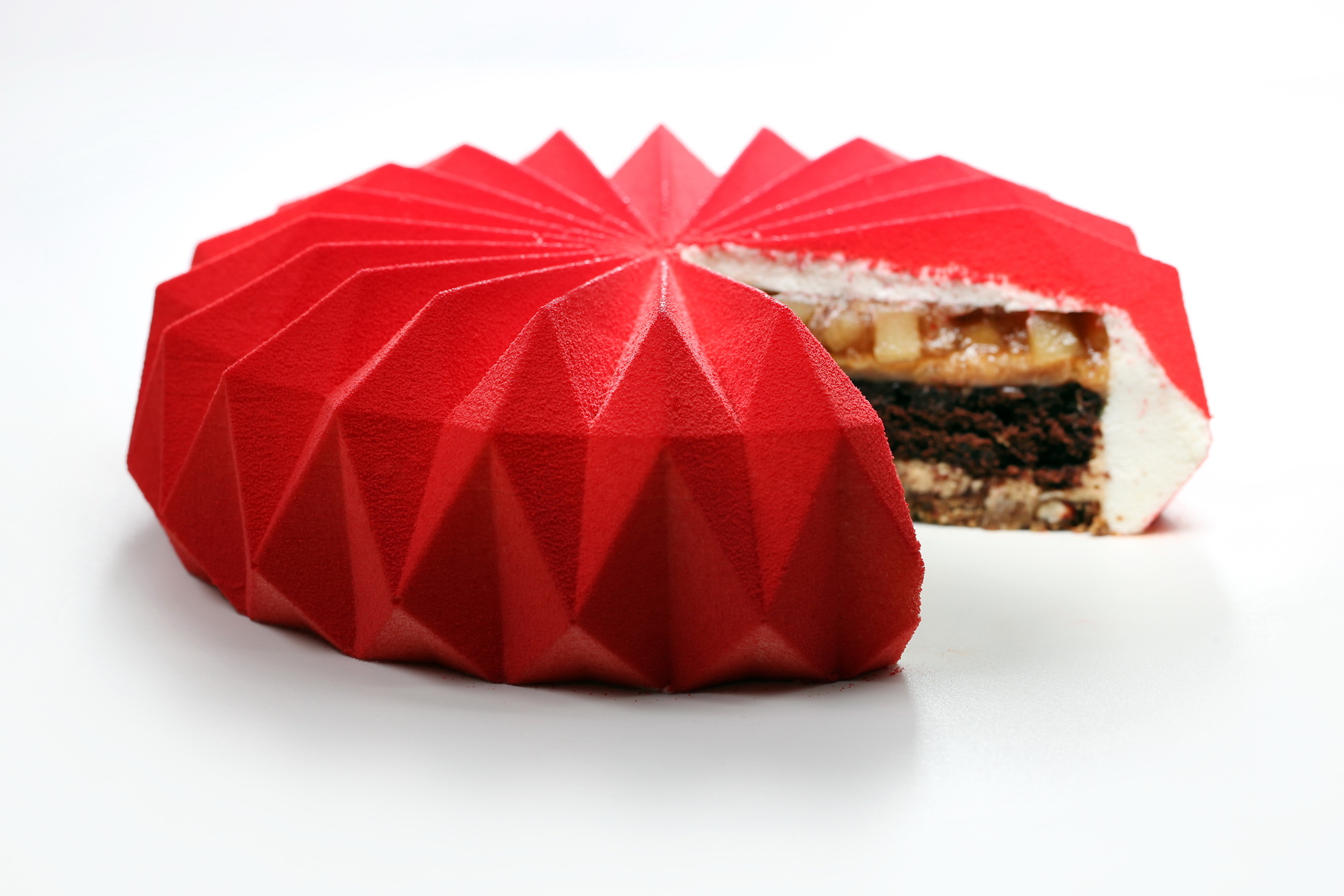 Tolle Desserts New Geometrically Inspired Pastries Cakes And Sweets By Dinara