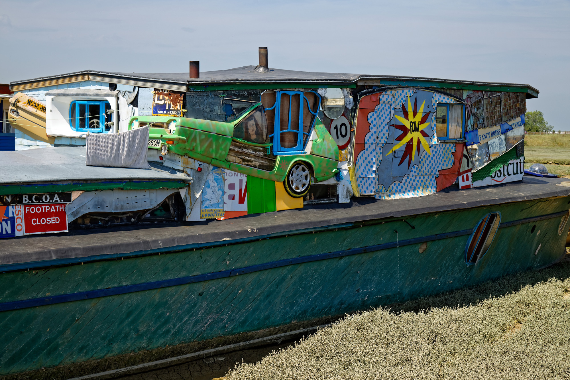 Arte Digital World Panjim Goa Eccentric British Houseboats Built From Decommissioned Ambulances
