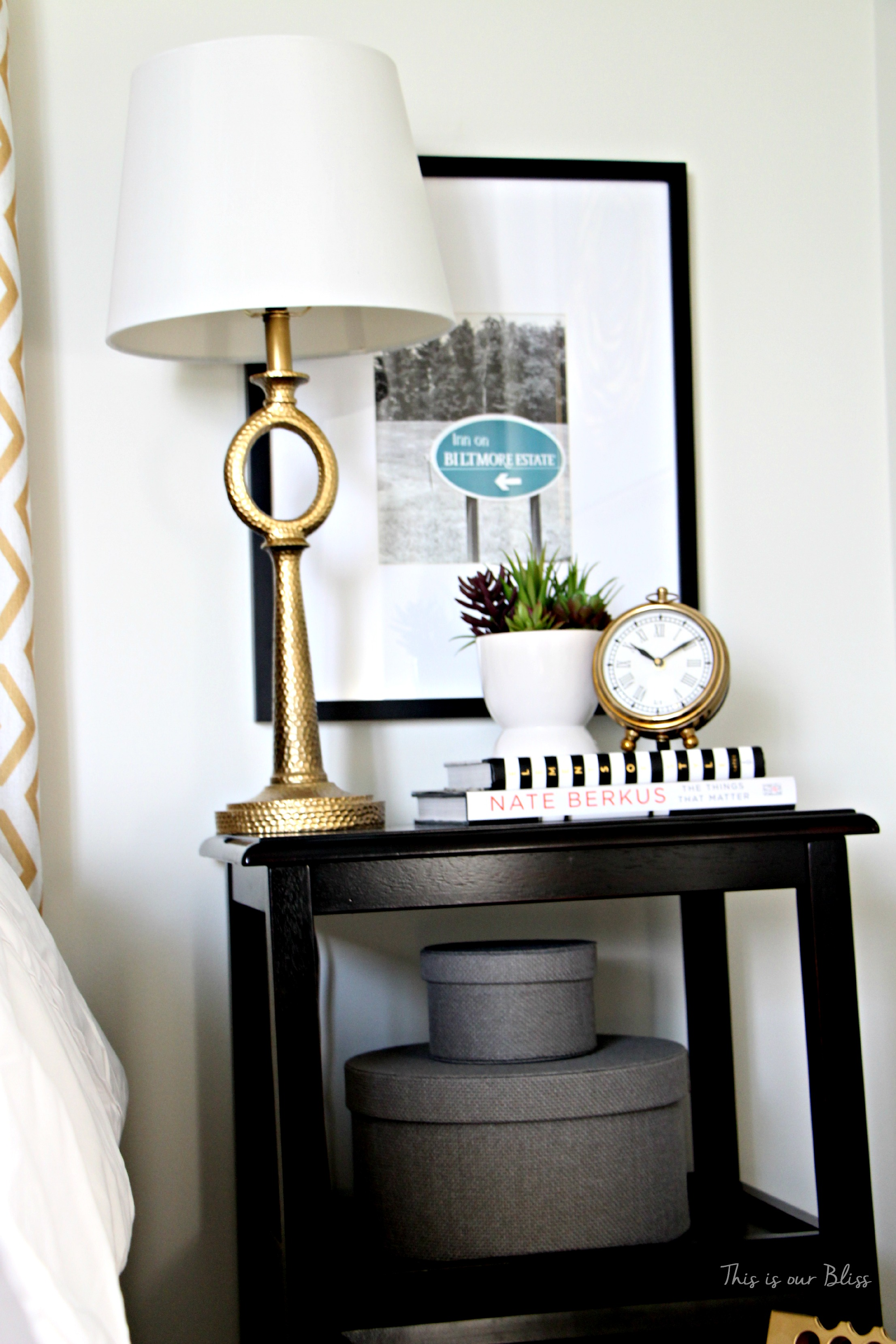 Bedside Table Clocks Our Last Home This Is Our Bliss