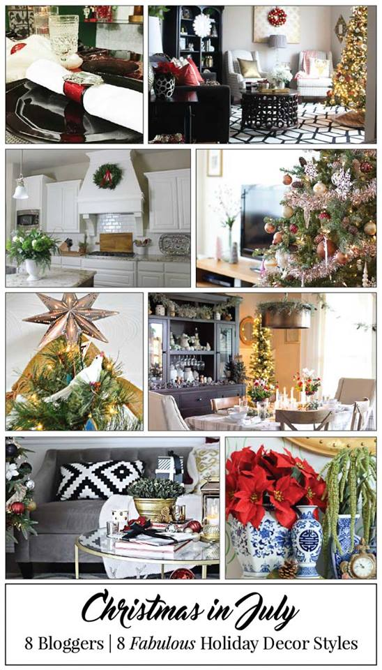 Christmas in July   Holiday Inspiration & Dreaming of Decking the Halls