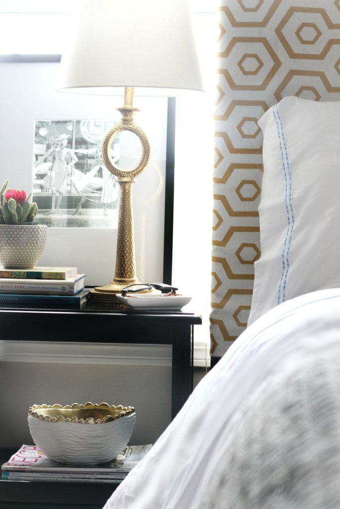 Perfect Linens in the Guestroom | Second Skin Sheets | This is our Bliss || www.thisisourbliss.com