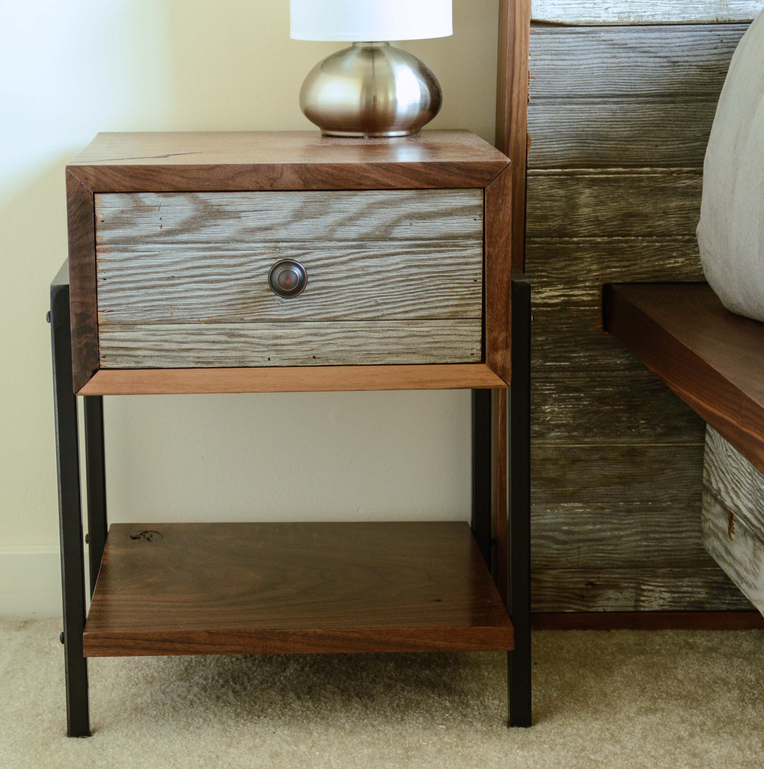 Black Side Table Black Walnut Side Tables Thisisurbanmade