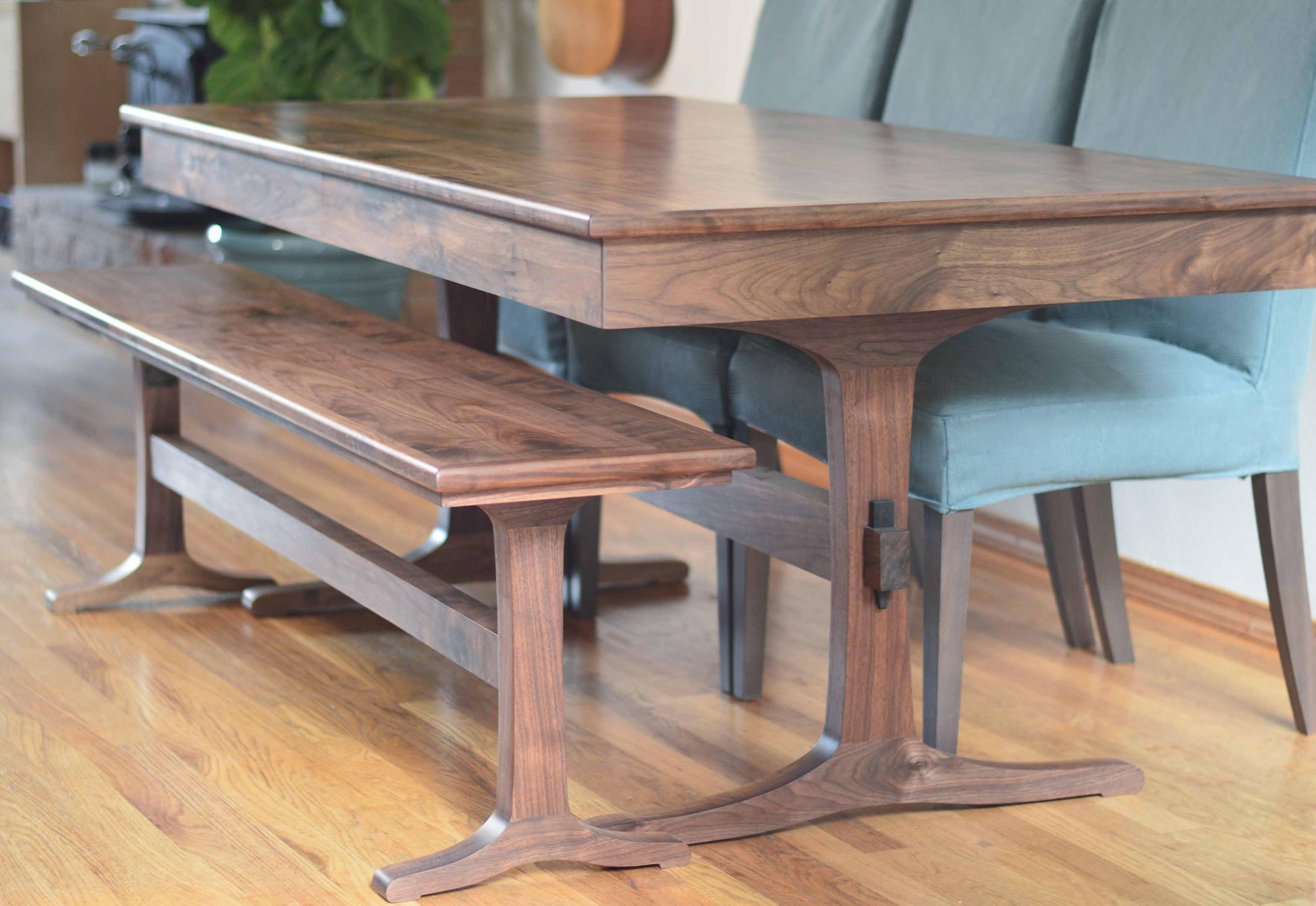 Extendable Breakfast Table Extendable Walnut Dining Table Thisisurbanmade