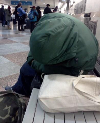 Man sleeping Penn