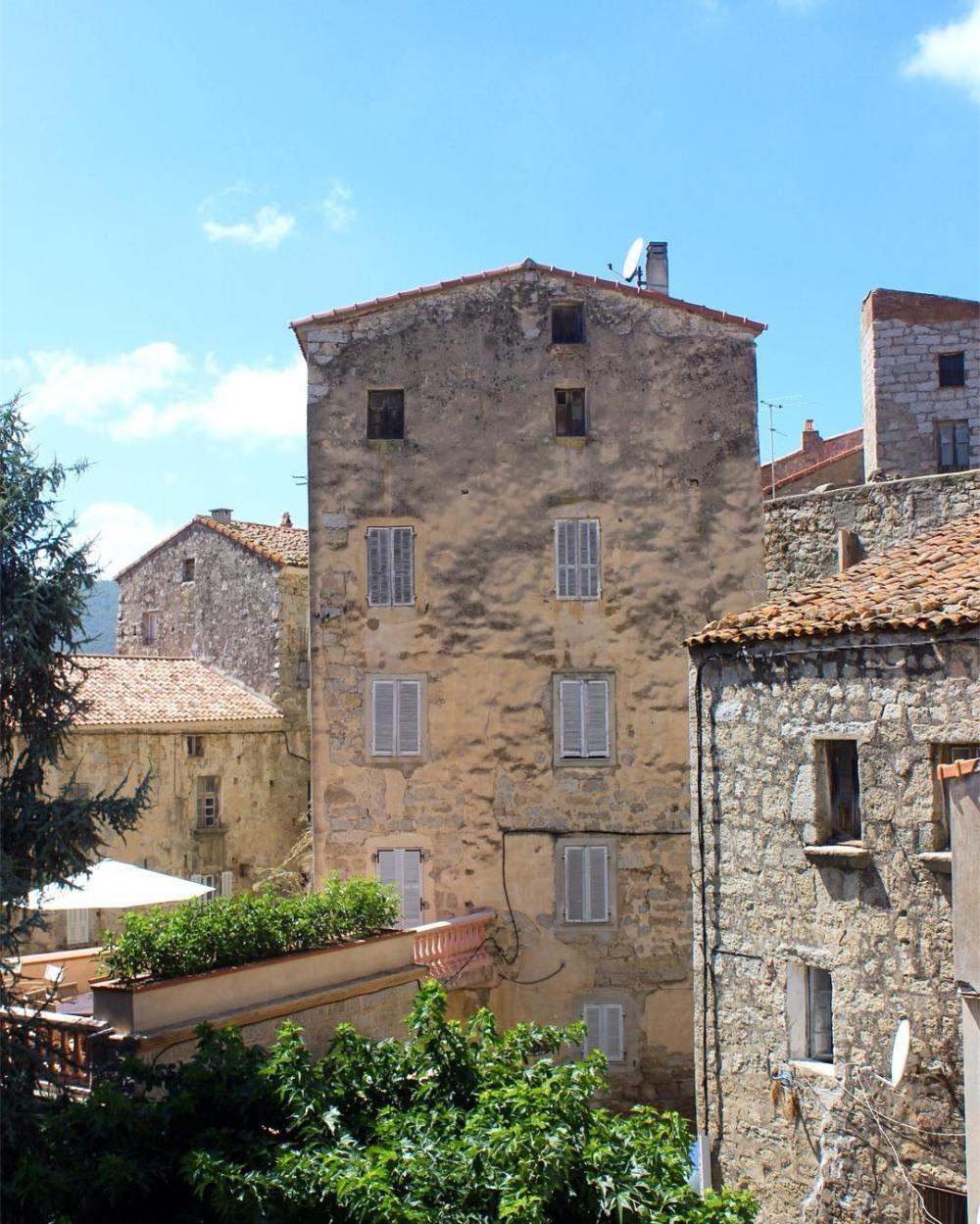 Les jolies btisses des villages Corses