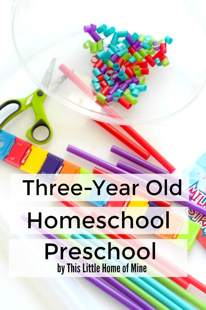 Three Year Old Homeschool Preschool This Little Home Of Mine - Home School Year 3