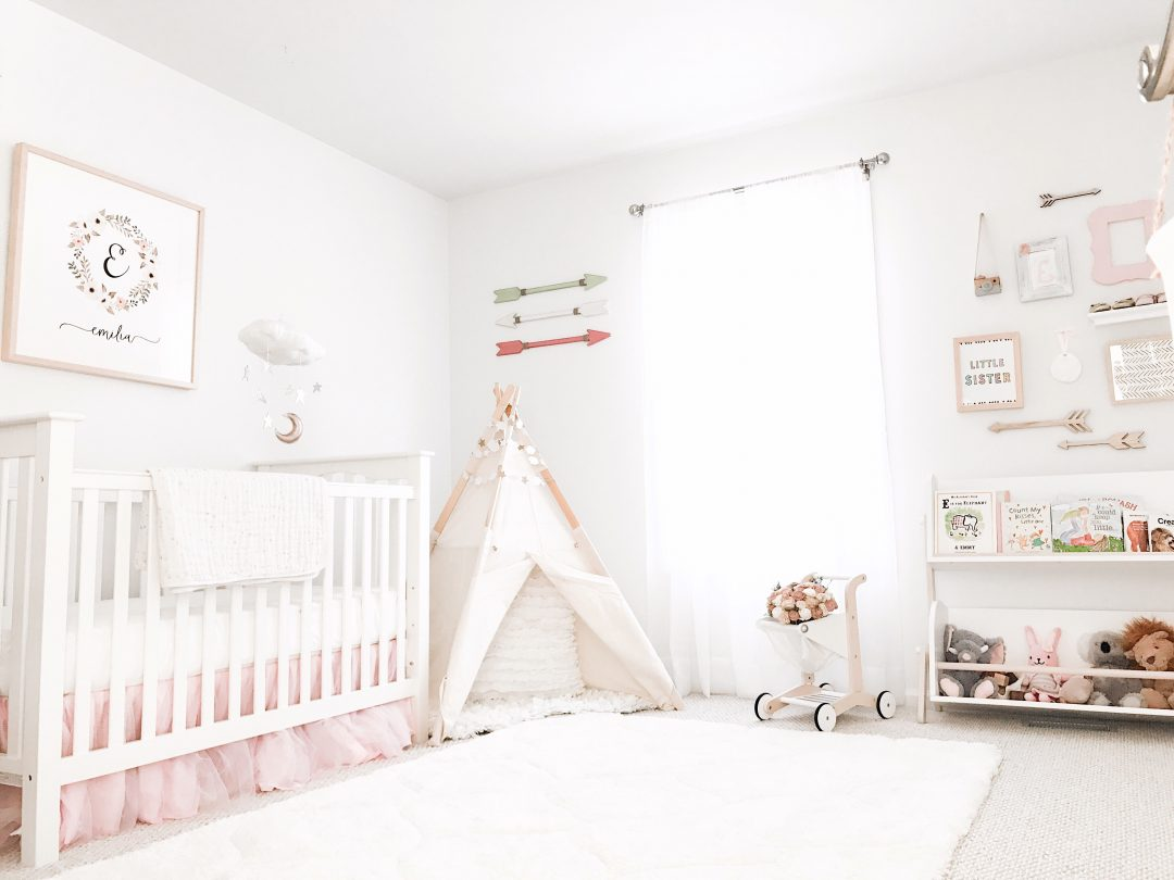 Baby Rooms This Lovely Life Boho Chic Stars 43 Moon Nursery Reveal