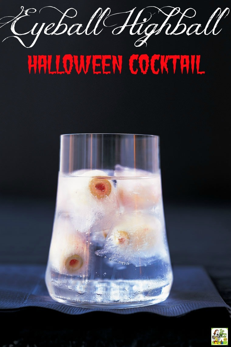 Cocktail Halloween Eyeball Highball Cocktail For Halloween